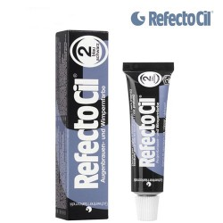 2. REFECTOCIL PAINT FOR EYEBROWS AND EYELASHES (BLUE-BLACK) TINT, 15 ML