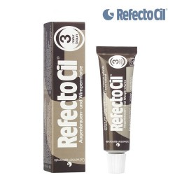 3. REFECTOCIL PAINT FOR EYEBROWS AND EYELASHES (NATURAL BROWN) TINT, 15 ML