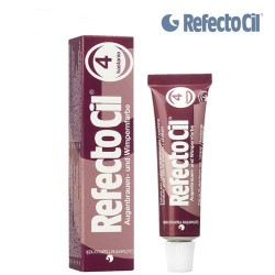 4. REFECTOCIL PAINT FOR EYEBROWS AND EYELASHES (CHESTNUT) TINT, 15 ML