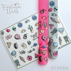 Slider desing Fashion Nails 3d-114