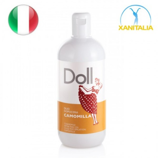 AFTER WAX OIL WITH CHAMOMILE DOLL 500 ML