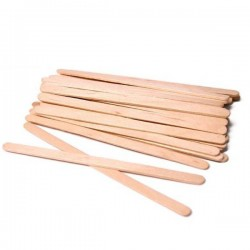 DISPOSABLE WOODEN WAXING SPATULAS 50
