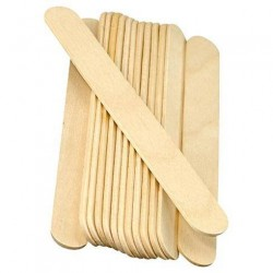 DISPOSABLE WOODEN WAXING SPATULAS 1 g